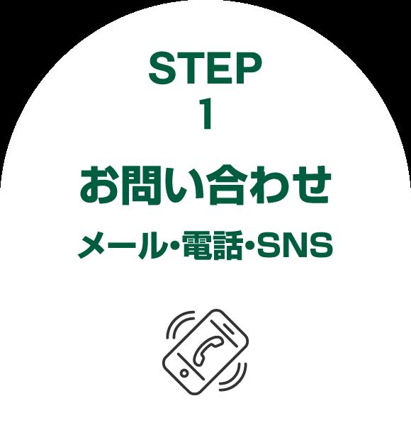 step1お問い合わせ